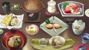 喜翆荘の食事