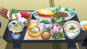 宮崎の旅館「福洋」の夕食