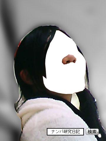 (ナンパ画像) 磨けば光りそうな黒髪地味女子