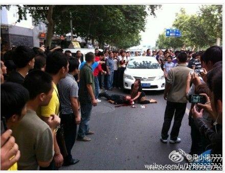 反日デモで日本車オーナーが頭蓋骨陥没で半身麻痺に