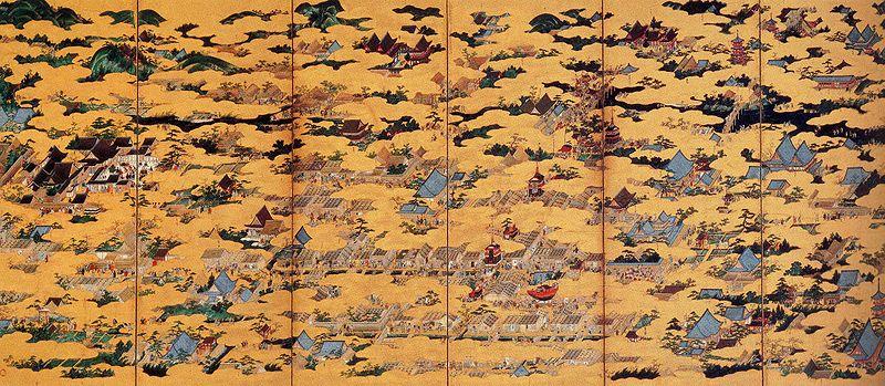 京都洛中洛外図