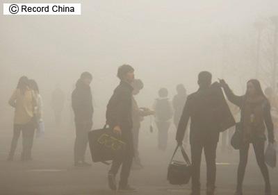 中国大気汚染.