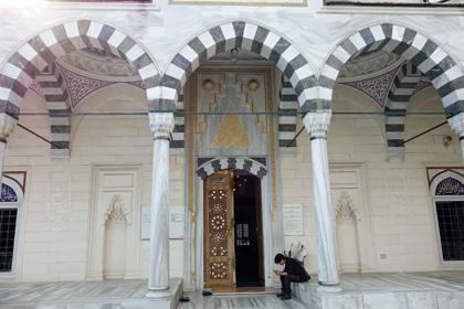 礼拝堂入口