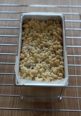 ぶどうのクランブルヨーグルトチーズケーキ4