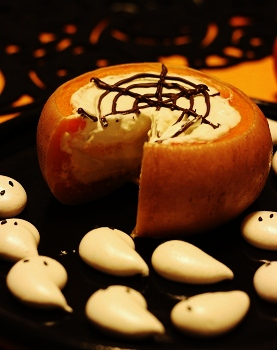 かぼちゃプリンとおばけメレンゲ1
