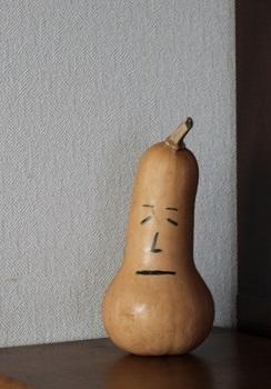 バターナッツの顔