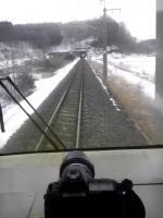 青い森鉄道の車窓の眺め&オリンパスE-3