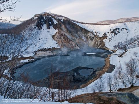 登別温泉の日和山・大湯沼(北海道)