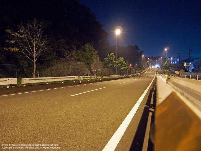 E-P3 絞り優先(A)モードの試し撮り写真4 夜撮影