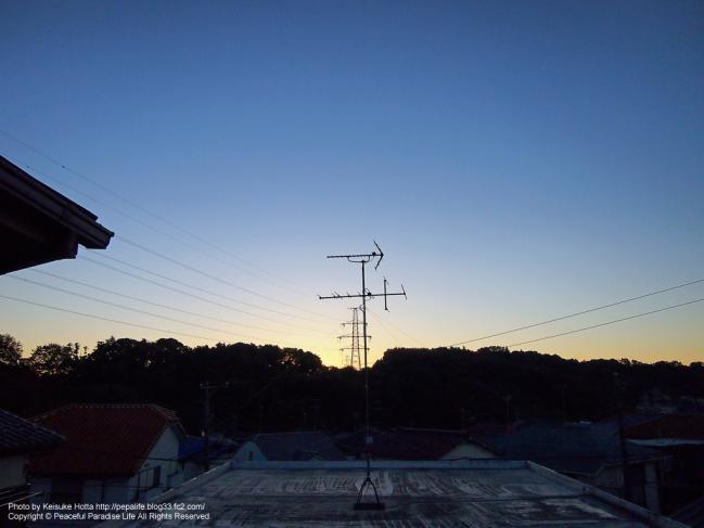 E-P3 絞り優先(A)モードの試し撮り写真6 朝撮影