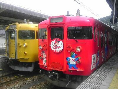 広島カープの電車