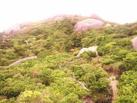 黒味岳登山