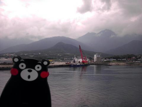 屋久島を離陸