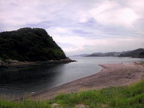 薩摩高城駅近くの絶景海岸