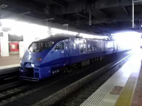 博多駅にいた列車