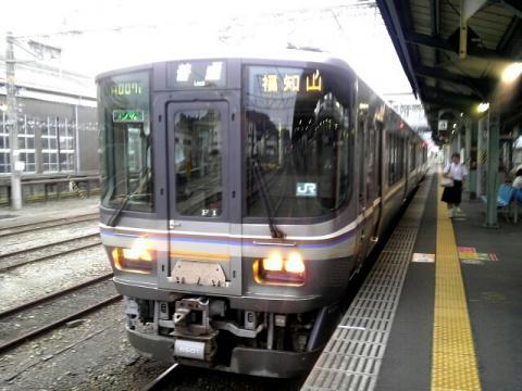 福知山駅行き