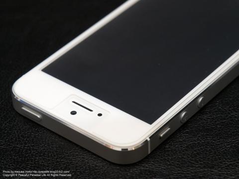 iPhone5上面表面