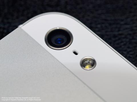 iPhone5カメラ部分