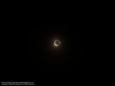 金環日食2012.05.21横浜