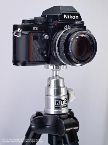 KTS PRO-40 カラー自由雲台