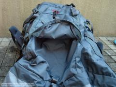 MAMMUT HERON LIGHT 65+15(マムート・ヘロンライト65+15)、フロント大ポケット