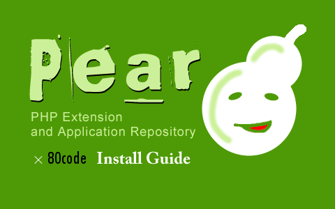 Pear 80code Install Guide