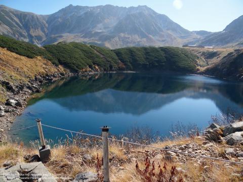立山黒部アルペンルートみくりが池