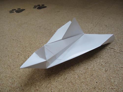 かっこいい 紙飛行機の作り方