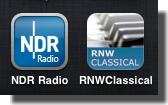3つじゃやっぱ足んないな(´・ω・`*)もっと追加しよう。クラシック聴けるラジオアプリ感想♪NDRとRNW