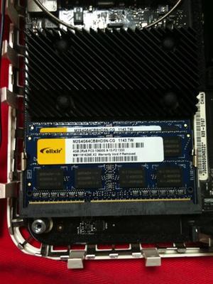 Mac mini Late 2009 メモリ増設16