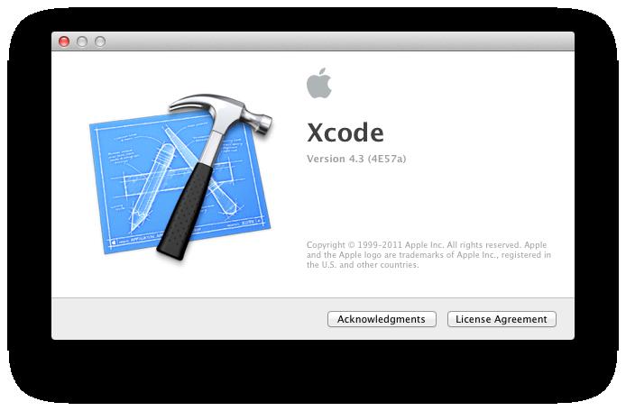 Xcode 4.3 beta 2