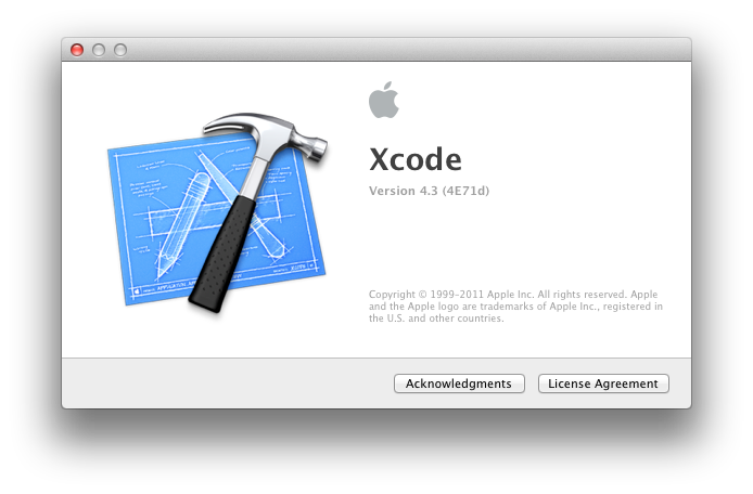 Xcode 4.3 Developer Preview 3