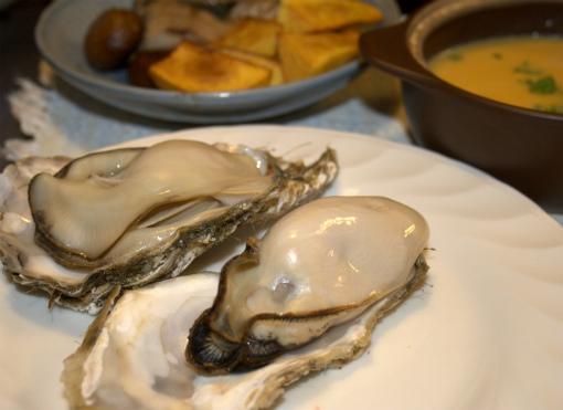 プリップリの牡蠣