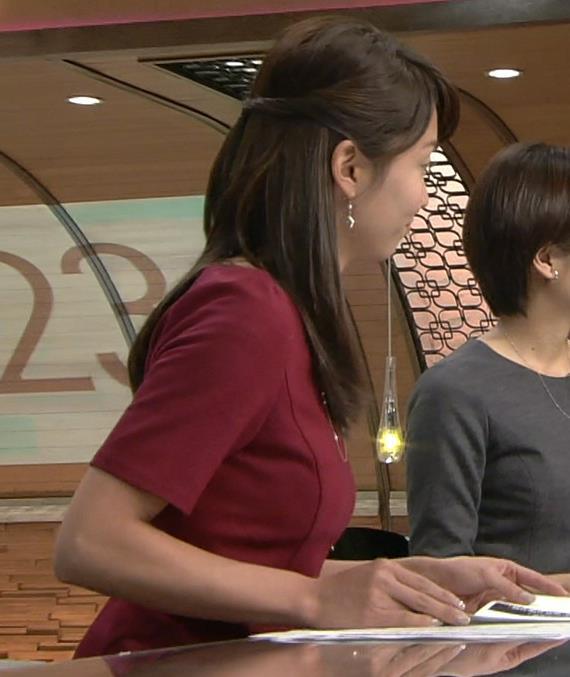 出水麻衣 横乳キャプ画像(エロ・アイコラ画像)