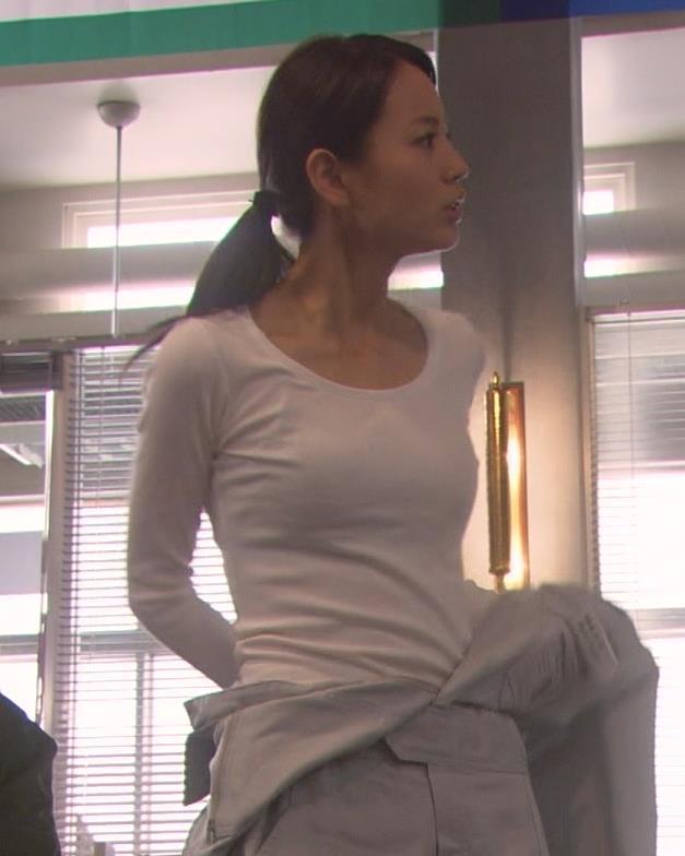 堀北真希 Tシャツおっぱいキャプ画像(エロ・アイコラ画像)