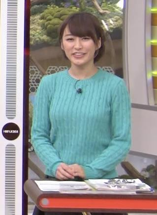 枡田絵理奈 セーターキャプ・エロ画像4