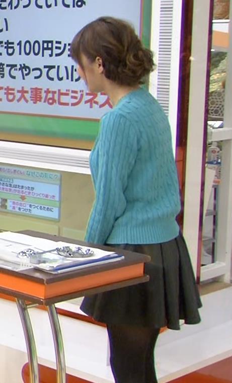 枡田絵理奈 セーターキャプ・エロ画像5