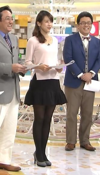 加藤綾子 横乳キャプ・エロ画像2