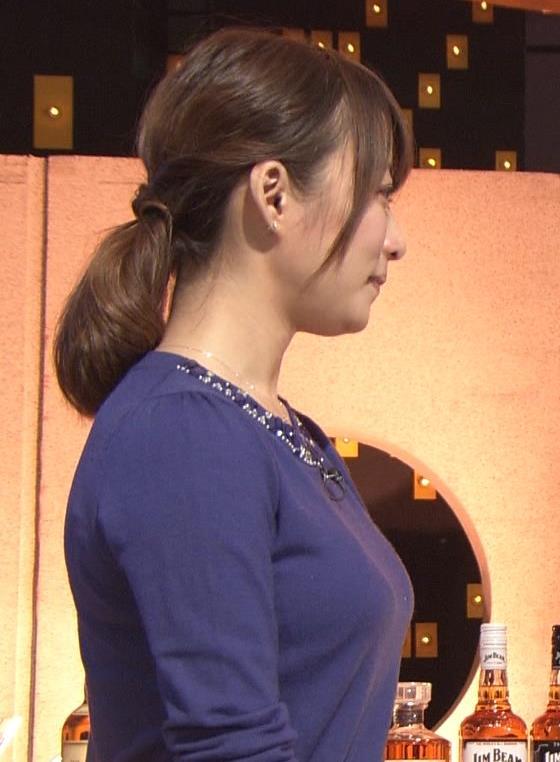 枡田絵理奈 巨乳横乳 (20131117)キャプ画像(エロ・アイコラ画像)