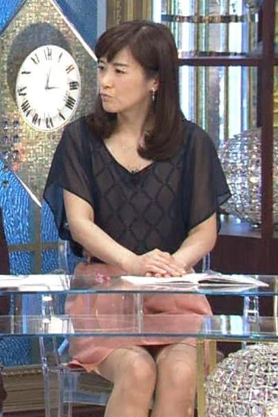 杉崎美香 ミニスカ太もも&デルタゾーン (20131120)キャプ画像(エロ・アイコラ画像)
