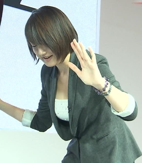 大島由香里 胸ちらキャプ・エロ画像2