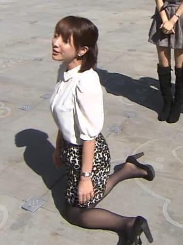 田中みな実 ミニスカートキャプ・エロ画像4