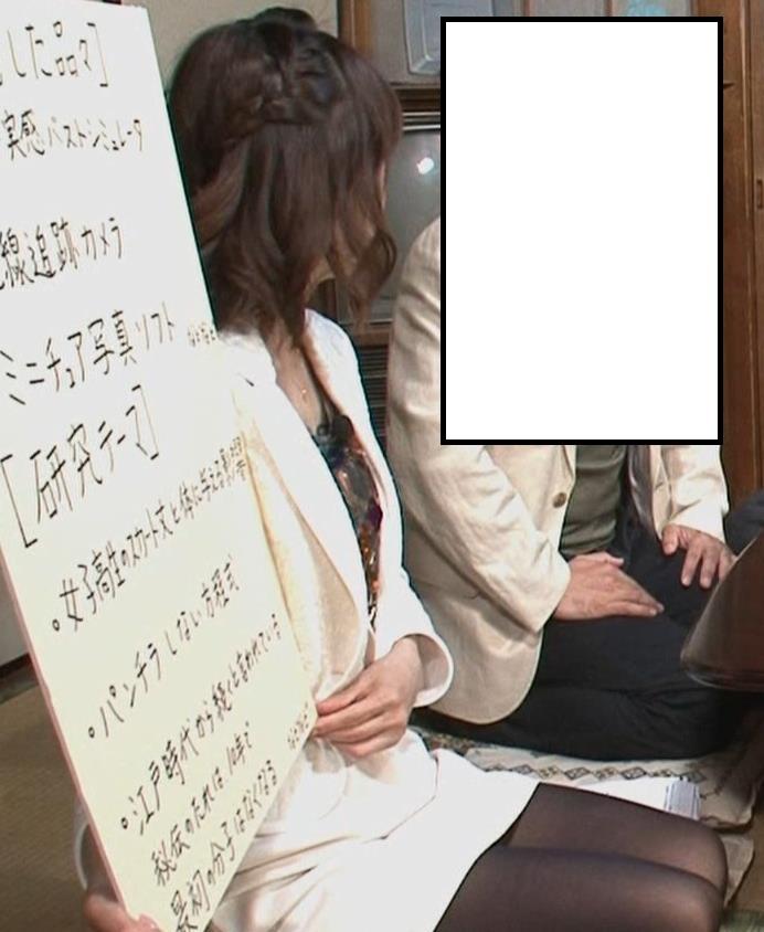 小林麻耶 ミニスカ正座キャプ画像(エロ・アイコラ画像)