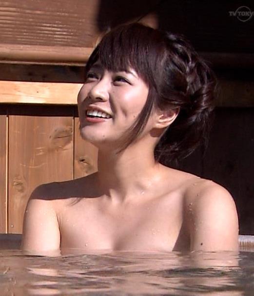 村井美樹 温泉入浴キャプ画像(エロ・アイコラ画像)
