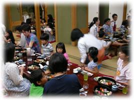 2010.6.20親子ゲームイベント:お寿司のランチ