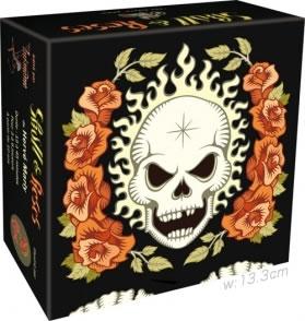 髑髏と薔薇:箱