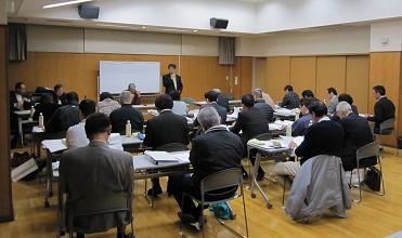 町連総会で熱心な論議を交わし新年がスタートしました総会