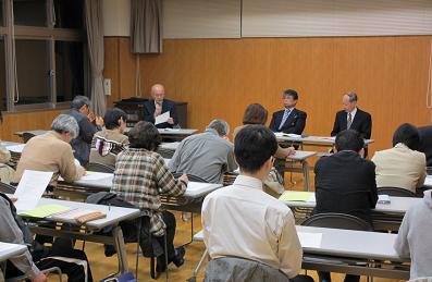 田上町連の健康推進委員研修会