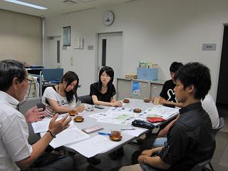 地域との関わりや実態等について勉強会を開催