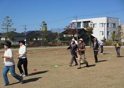 普通歩きと早歩きのインターバル訓練